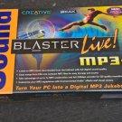 NEW Creative Sound Blaster Live! MP3+ (SB4760M) PCI Internal Sound Card Sealed