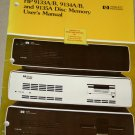 HP 9133A/B, 9134A/B and  9135A Disc Memory User's Manual