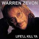 Life'll Kill Ya by Warren Zevon CD NEW FACTORY SEALED FREE SHIPPING