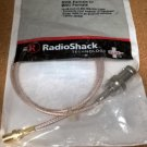 RadioShack 278-0011 SMA Female to BNC Female Connector Brand New 2780011