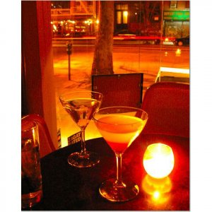 Manhattan Martini 8x10 photo