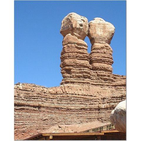Kissing Rocks 8x10 photo
