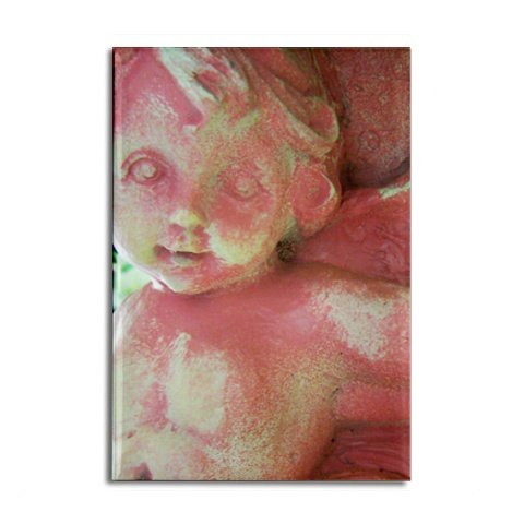 Pink Cherub Magnet