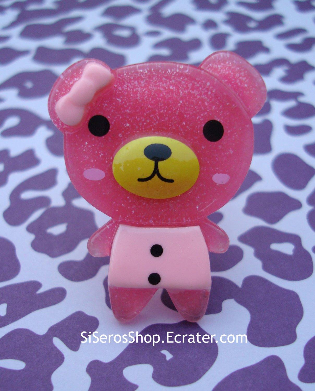 Summer Dress DARK PINK Teddy Ring