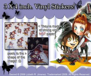::SOLD OUT:: Sacred- Chibi Star VINYL Sticker