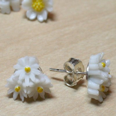 Daisy Trio Earrings