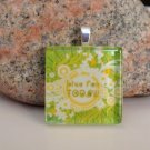 Live for Today, Glass Tile Pendant (6)