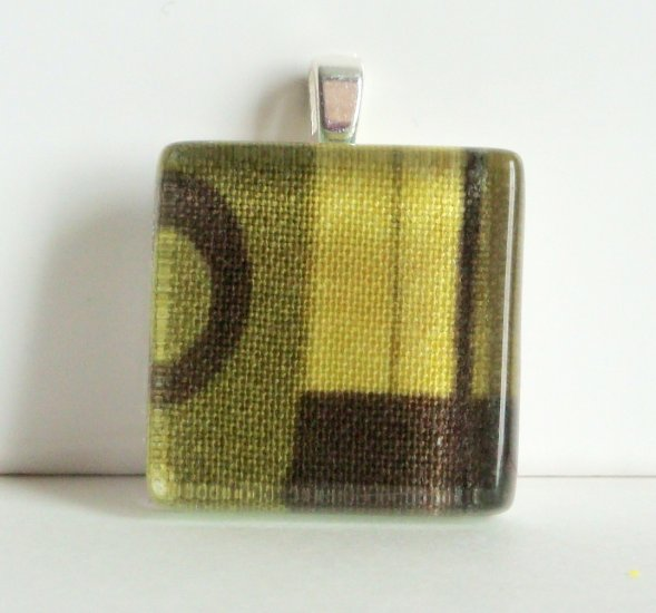 Glass Tile Pendant (7)