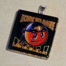 Born to Raise Hell,  Glass Tile Pendant (15)