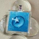 Star Light Glass Tile Pendant