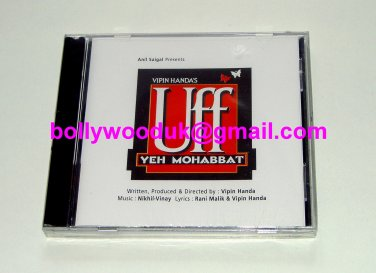 **UFF YEH MOHABBAT** Bollywood/Indian Soundtrack CD Sabri Brothers Made in UK