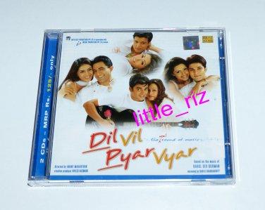 **DIL VIL PYAR VYAR** Bollywood/Indian Soundtrack CD - 2 CD Set - R.D. Burman