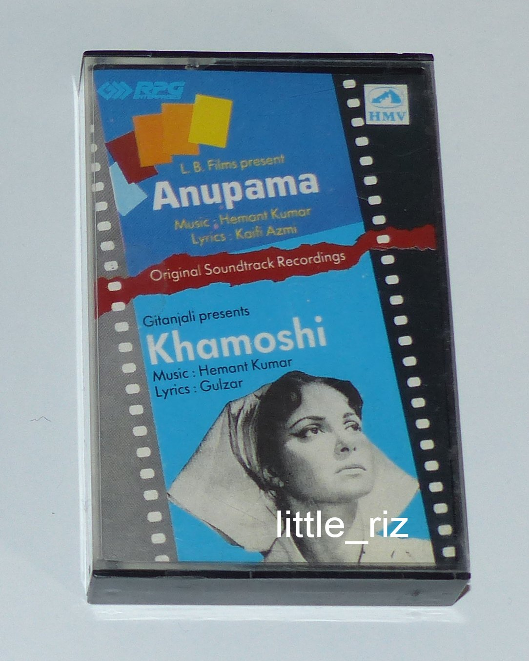 Anupama (1966) / Khamoshi (1970) � Bollywood Indian Cassette Tape Hemant Kumar