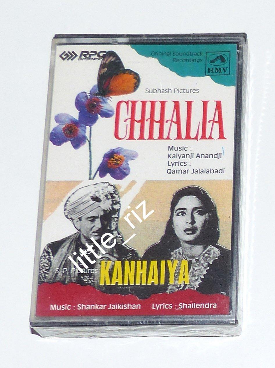 Chhalia (1960) / Kanhaiya (1959) � Bollywood Indian Cassette Tape Shankar Jaikishan