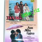 Daag (1973) / Aan Milo Sajna (1970) – Bollywood Indian Cassette Tape Laxmikant Pyarelal