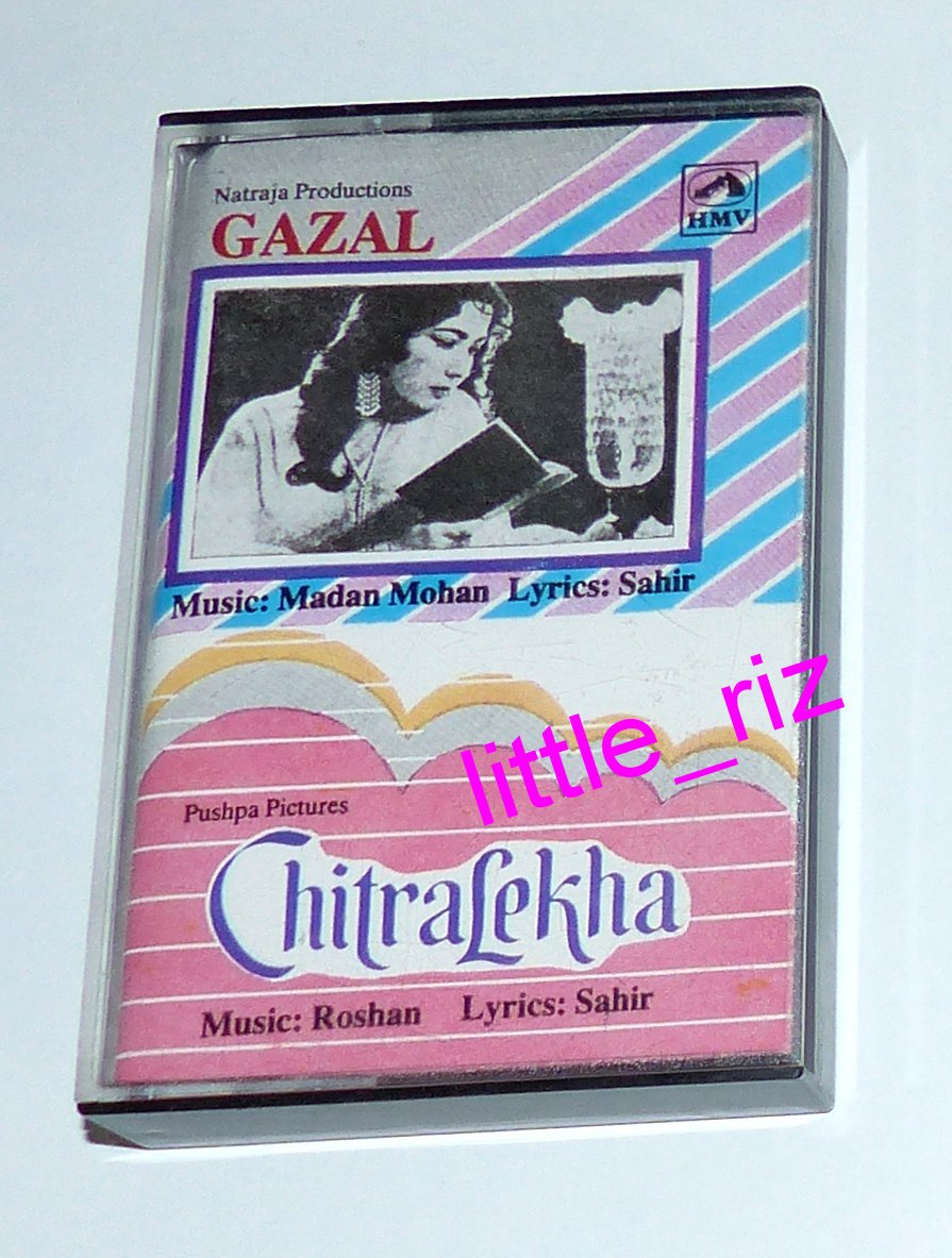 Gazal / Chitralekha � Bollywood Indian Cassette Tape Madan Mohan, Roshan