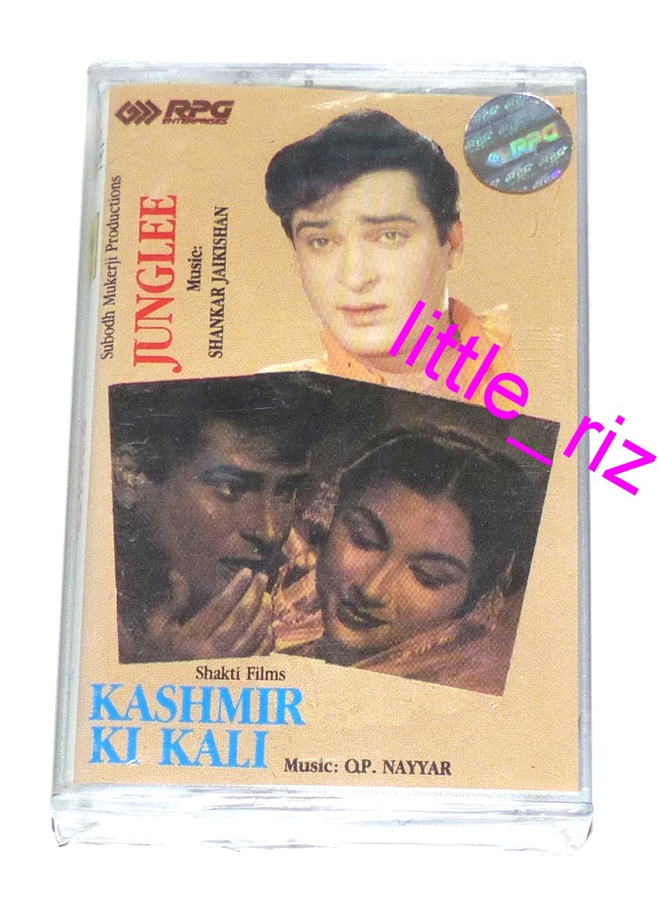 Junglee / Kashmir Ki Kali � Bollywood Indian Cassette Tape Shankar Jaikishan, O.P. Nayyar
