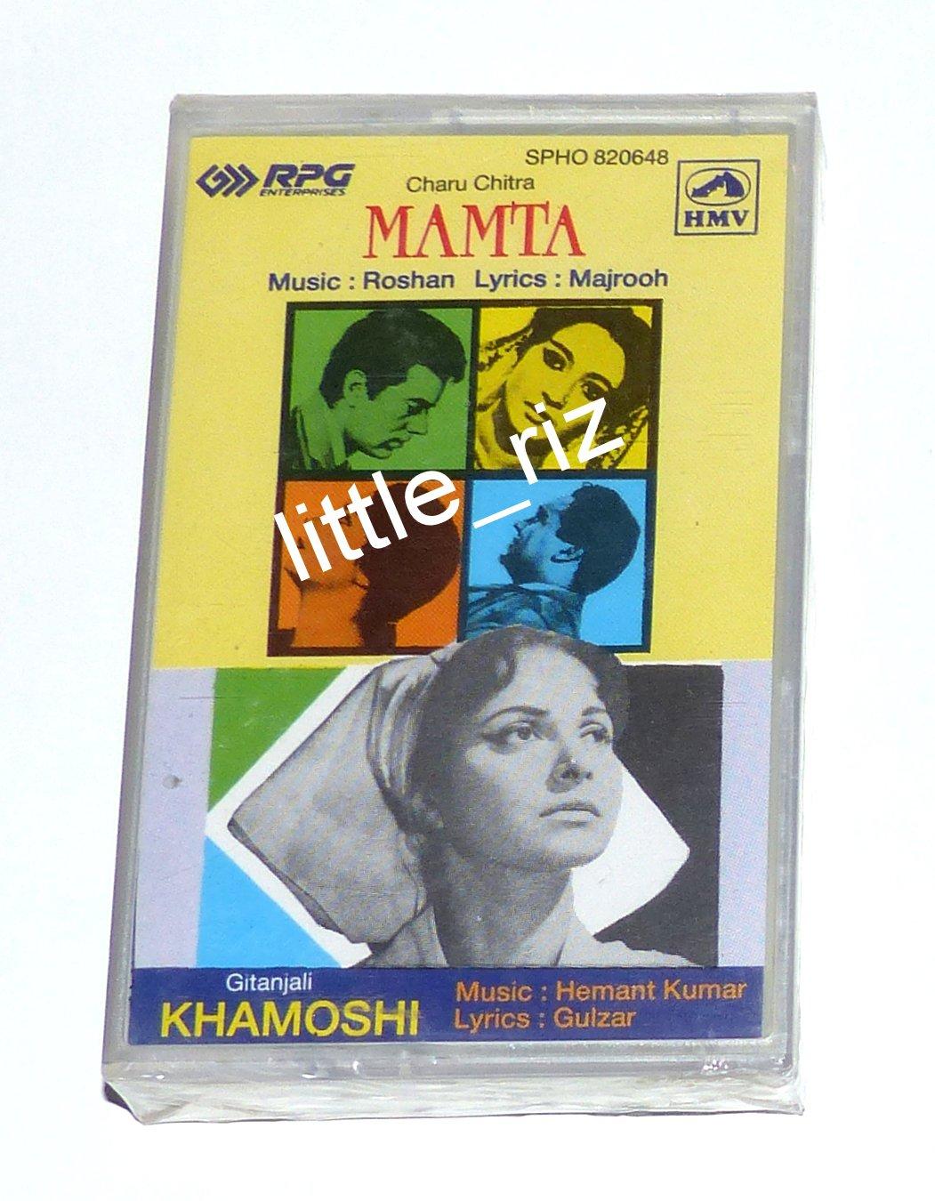 Mamta (1966) / Khamoshi (1970) � Bollywood Indian Cassette Tape Roshan, Hemant Kumar