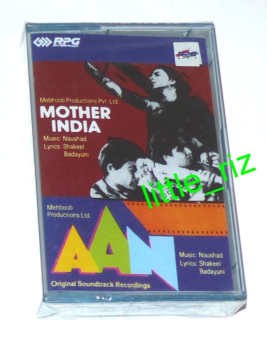 Mother India (1957) / Aan (1953) � Bollywood Indian Cassette Tape Naushad