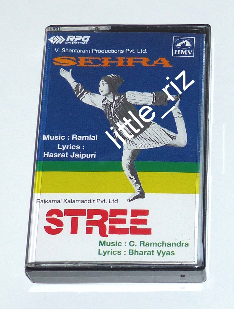 Sehra (1963) / Stree (1961) � Bollywood Indian Cassette Tape - Ramlal, C. Ramchandra