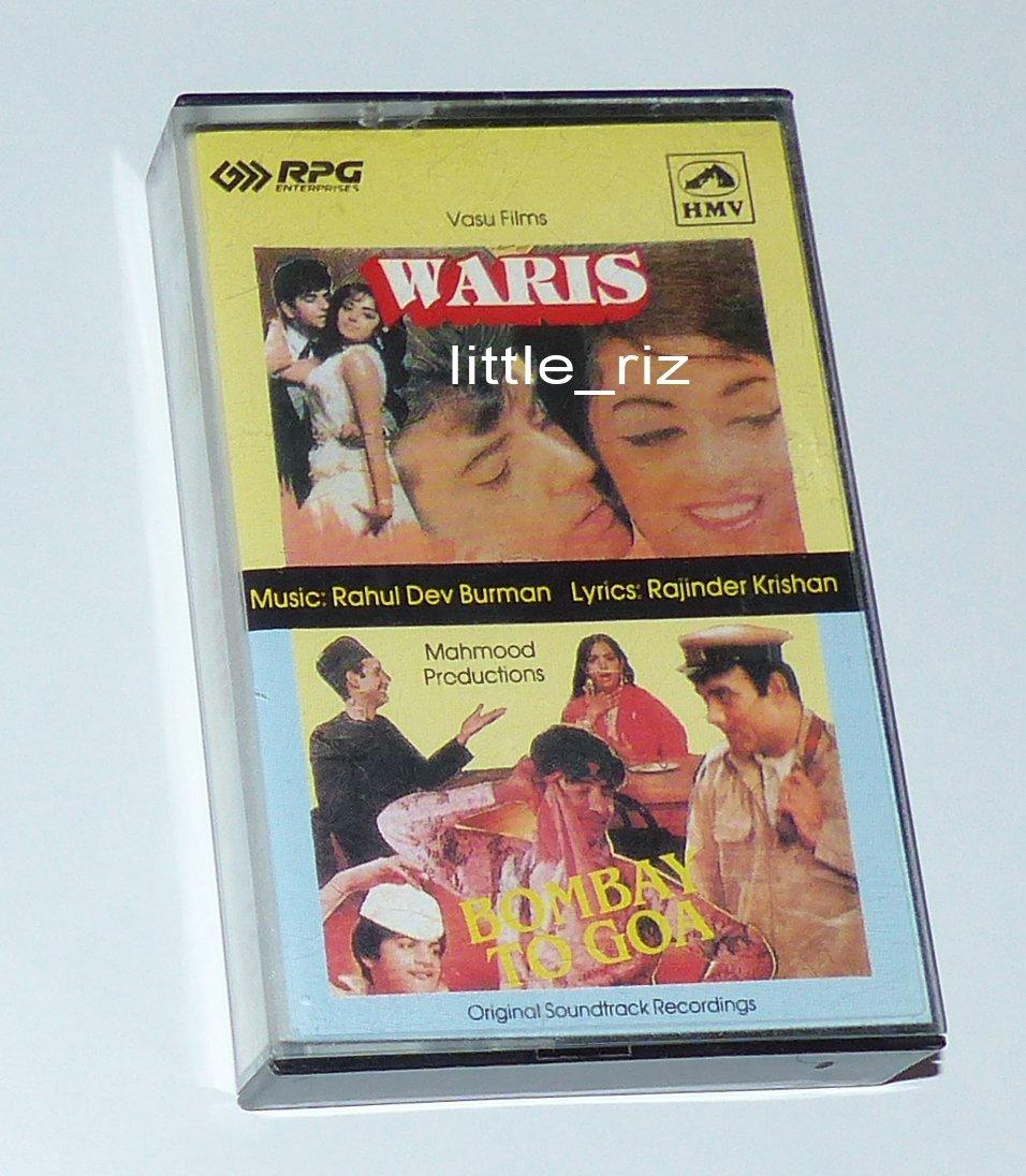 Waris (1969) / Bombay To Goa (1972) - Bollywood Indian Cassette Tape - R.D. Burman