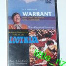 Warrant (1975) / Lootmaar (1980) – Bollywood Indian Cassette Tape - R.D. Burman, Rajesh Roshan