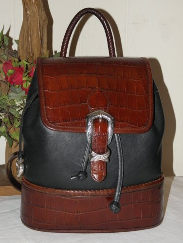 Brighton Carolina Flap Backpack US Model