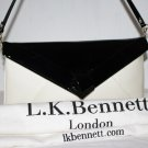 The Lydia Patent Leather Convertible Evening Bag by L.K. Bennett