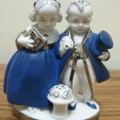 German Antique Porcelain Figurine Young Couple 4 1/2""