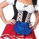 Lace Up Heidi Costume