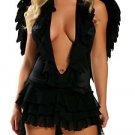 Earth Angel Costume Black or White