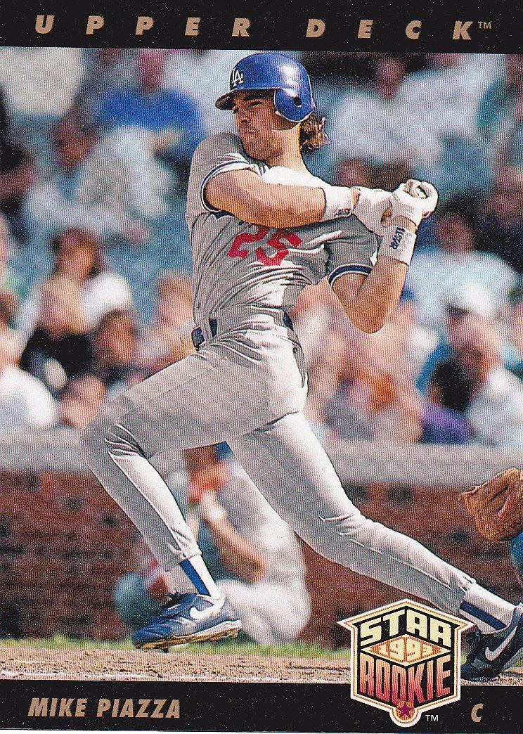 1993 Upper Deck Star Rookie Mike Piazza