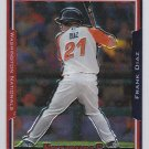 2005 Topps Chrome Update  Frank Diaz Rookie Card