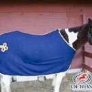 Fleece Horse Cooler Sheet with Gold Cord & Trim