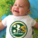 GREENBAY PACKERS NFL SUPERBOWL CHAMPIONS by Onesie Stickers, Free Milestone Stickers