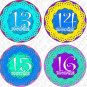 FLOWERS MONTHLY ONESIE STICKERS MOM TO BE NEWBORN, Free Milestone Stickers