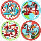 LOLLI DOTS ONESIE STICKERS 13 to 24 months by Onesie Stickers baby shower gifts
