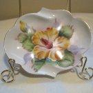 Vintage hand painted plate