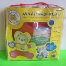 """Build-A-Bear ~ Make a 7"""" Animal and 1 Complete Outfit - Boy Bear Model 54592"""