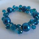 Charming  Blue Bracelet