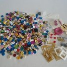 Mix Lot of hundreds of New & Vintage Buttons, Unique Novelty Sewing Collectible