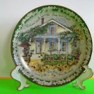 22K Gold rim Plate Welcome Small Miracles by Glenna Kurtz The Bradford Exchange