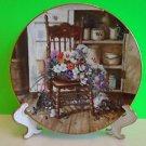 Vintage Collectors Plate W.J George Fine China 1990 Country Cuttings Glenna Kurz