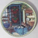 1990 KNOWLES CAT PLATE LAZY MORNING BY HANNAH HOLLISTER INGMIRE Cozy corners