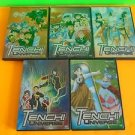 Tenchi Universe Anime Lot Vol 2,3,6,7,8 Like New Ship Fast with tracking Number
