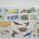 Lot of Instant Mural Wall Decal Sticker Fence Flower Bird Butterfly Insects More