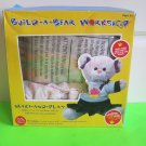 """NEW Colorbok Build A Bear Kit, Sweetheart Bear Make 7"""" animal & complete outfit"""