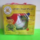"""Build-A-Bear ~ Make a 7"""" Animal and 1 Complete Outfit - Girl Bear Model 42273"""