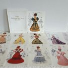 Collection of Annie's Calendar Bed Doll Society Patterns 1993+1994 Ship Fast