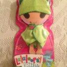 NEW Rare MGA Lalaloopsy Littles Doll Frog Hooded Towel Outfit
